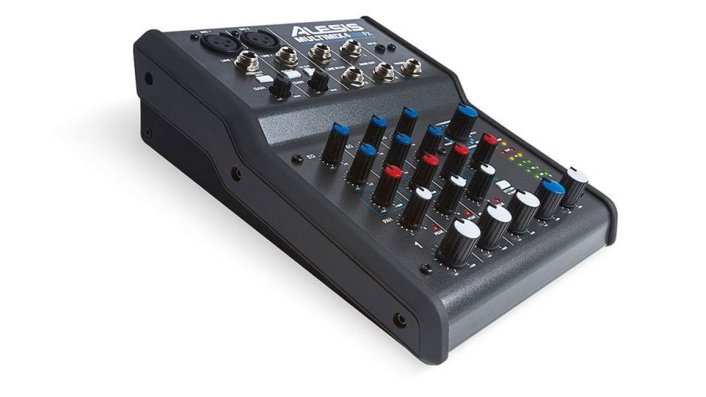 ALESIS MULTIMIX MIXER WITH USB AUDIO INTERFACE FOR BEGINNERS