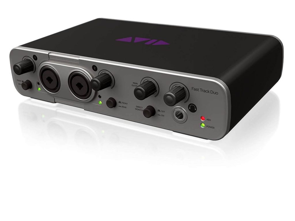 AVID FAST TRACK DUO WITH PRO TOOLS EXPRESS AUDIO INTERFACE FOR BEGINNERS