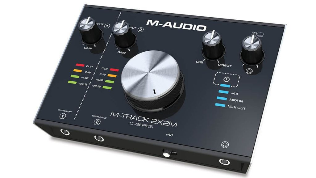 M-AUDIO M-TRACK C-SERIES USB AUDIO INTERFACE FOR BEGINNERS