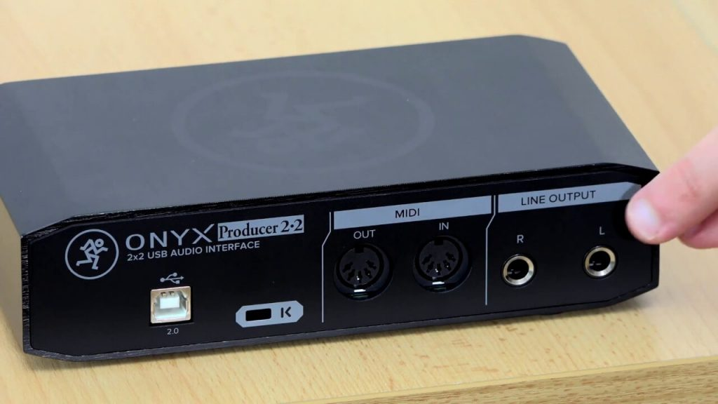 MACKIE ONYX PRODUCER PORTABLE BEGINNER AUDIO INTERFACE