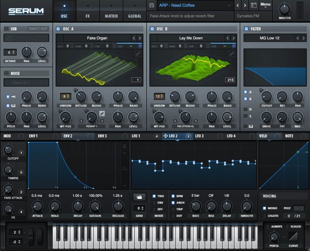 Serum one of the best paid synth plugins