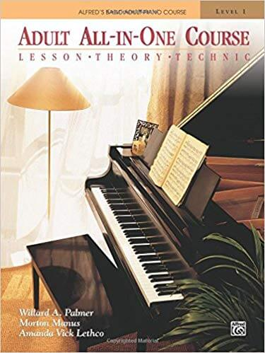 Adult All-In-One Course is one of the best piano books for beginners