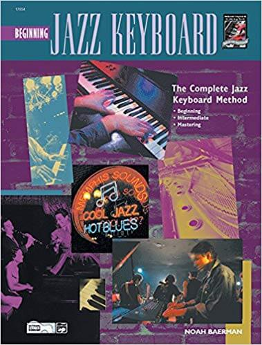 Beginning Jazz Keyboard is one of the best piano books for beginners