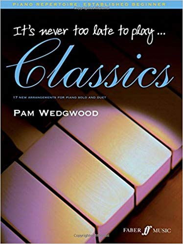 Its never too late to play piano is one of the best piano books for beginners