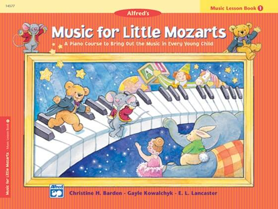 Music For Little Mozarts is one of the best piano books for beginners