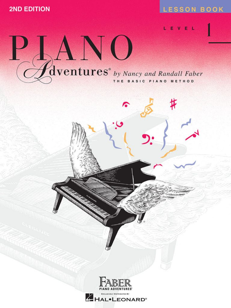Piano Adventures (Level 1) is one of the best piano books for beginners