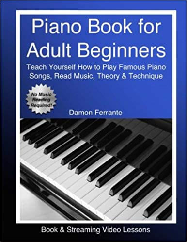 Piano Book For Adult Beginners is one of the best piano books for beginners