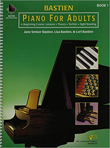 Piano For Adults is one of the best piano books for beginners