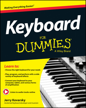 Piano & Keyboard For Dummies is one of the best piano books for beginners