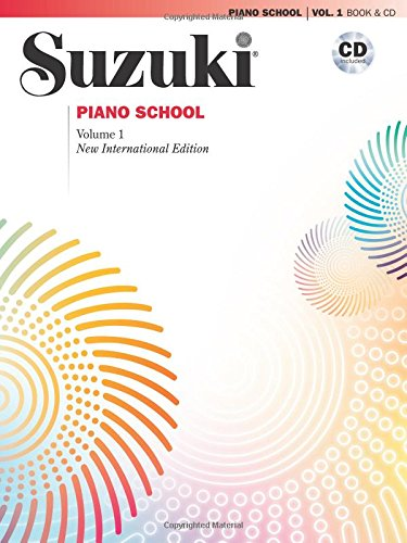 Suzuki Piano School is one of the best piano books for beginners