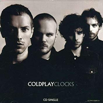 Clocks (Coldplay) - keyboard notes for songs