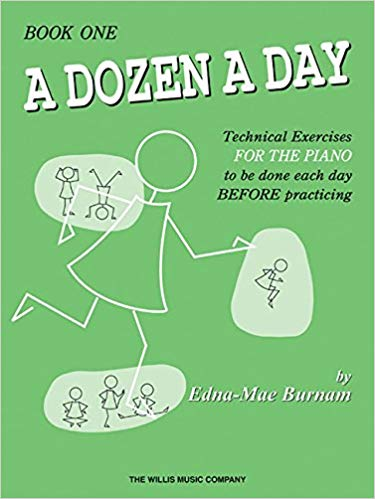 A Dozen a Day is one of The Best Piano Book For Beginners