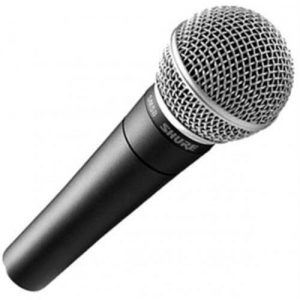 Is Shure SM58 a good microphone for singing?