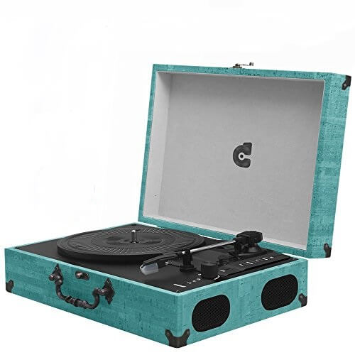 WOCKODER PORTABLE record player review