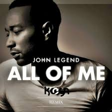 All Of Me - pop songs for beginning piano