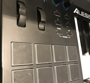most affordable MIDI controllers alesis v49