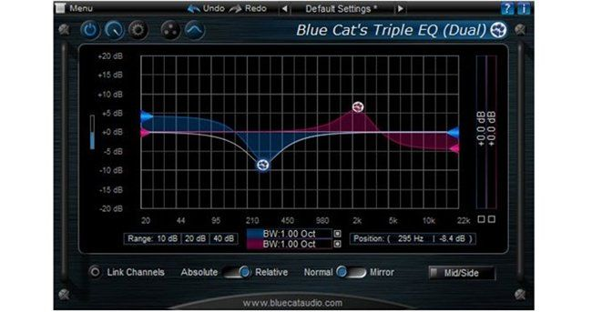 Blue Cat Triple EQ review - best free dynamic eq vst