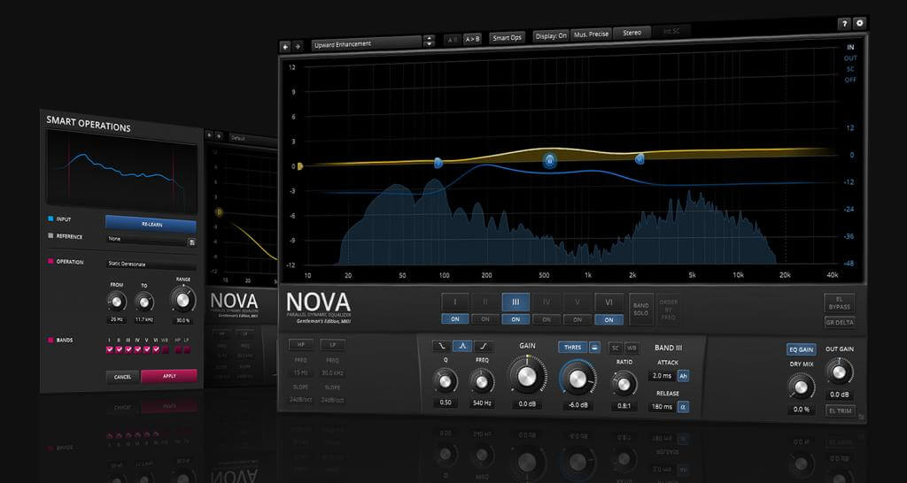 Tokyo Dawn Records TDR Nova review - best free eq plugin