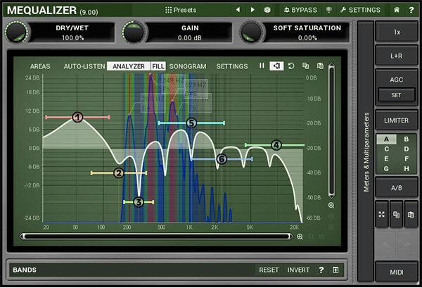 melda audio mequalizer review - best free equalizer plugin