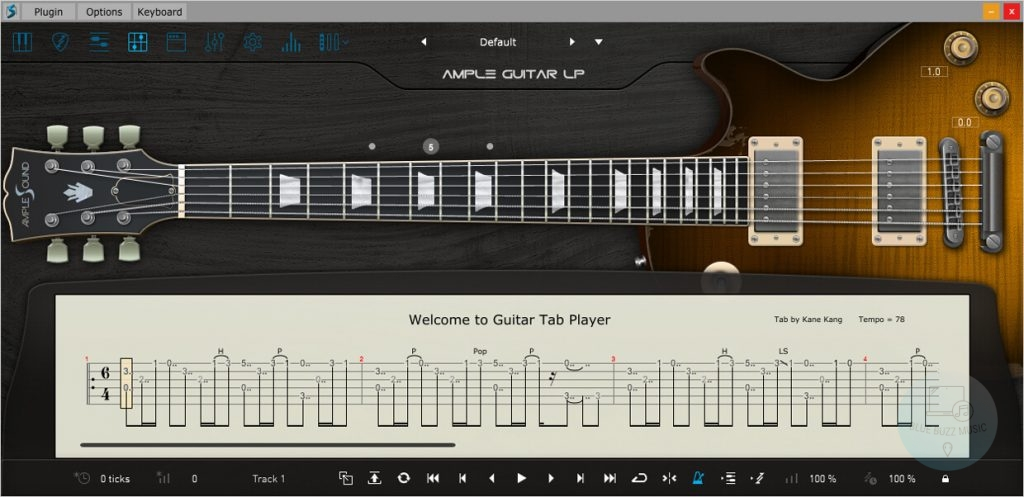 AmpleSounds Ample Guitar G II review - clean electric guitar vst
