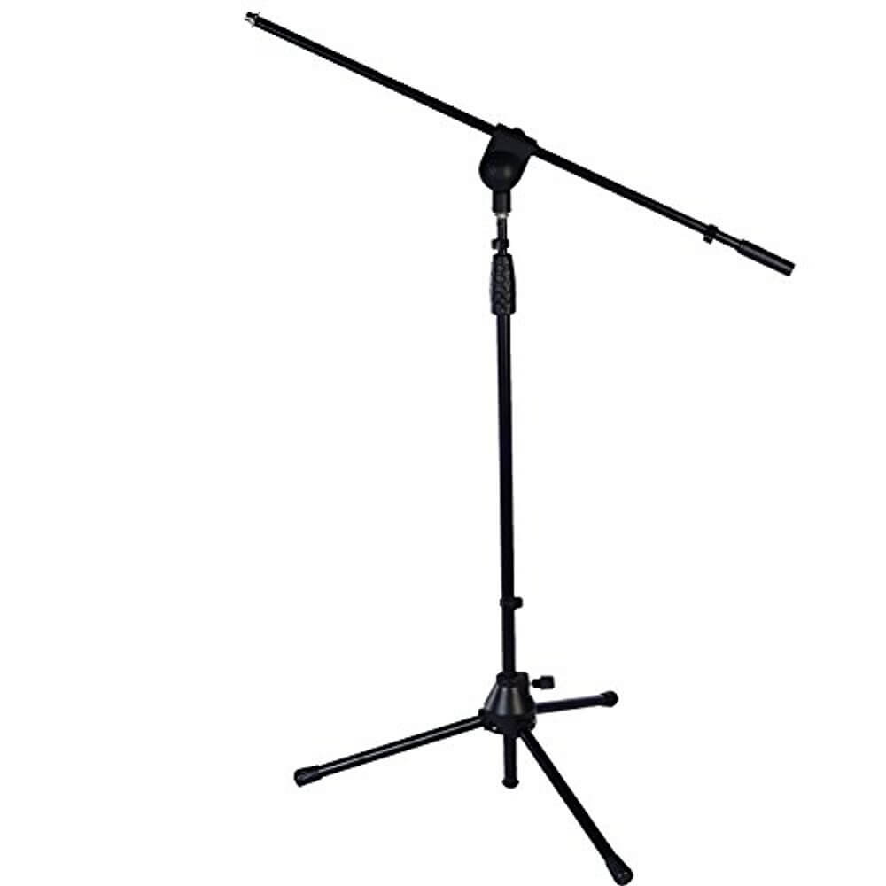 Boom Floor Mic Stand For Blue Snowball – LyxPro TMS-1 Tripod Boom Floor Microphone Stand
