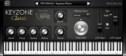 Keyzone Classic review - free Rhodes, Fender, Yamaha, basic E-piano of the 80s and grand piano vst plugin