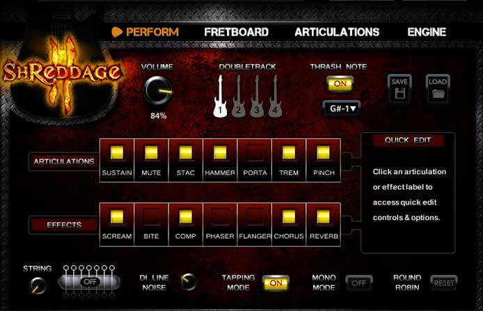 Shreddage 3 by Impact Sound Works review - electric guitar vst for ableton, pro tools, logic pro x, garage band