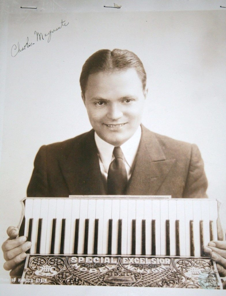 Charles Magnante classic accordionist incredibly talented and popular