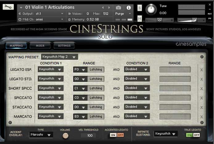 Cinesamples Cinestrings free metal guitar vst plugin cinematic studio strings