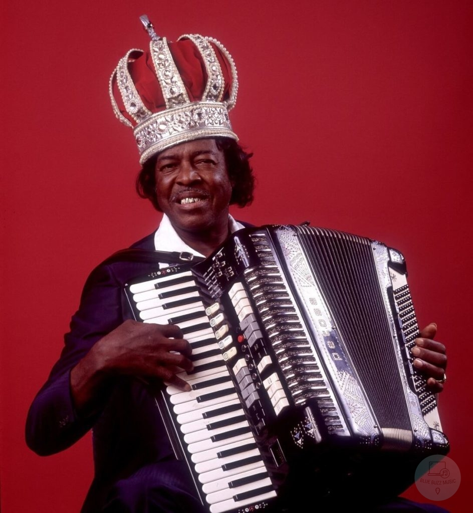 Clifton Chenier famous afro american accordion player accordionist