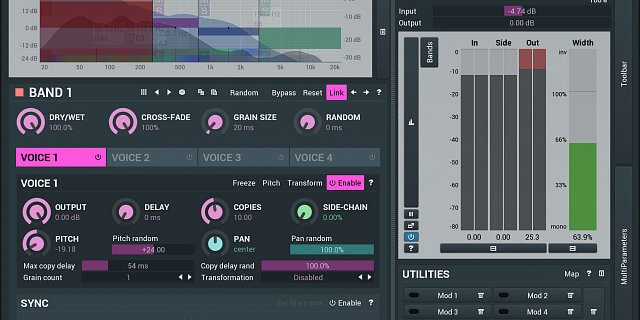 MFreeFX Bundle by MeldaProduction download free mixing and mastering plugins
