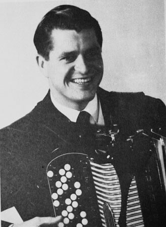 Mogens Ellegaard talented and famous accordionist