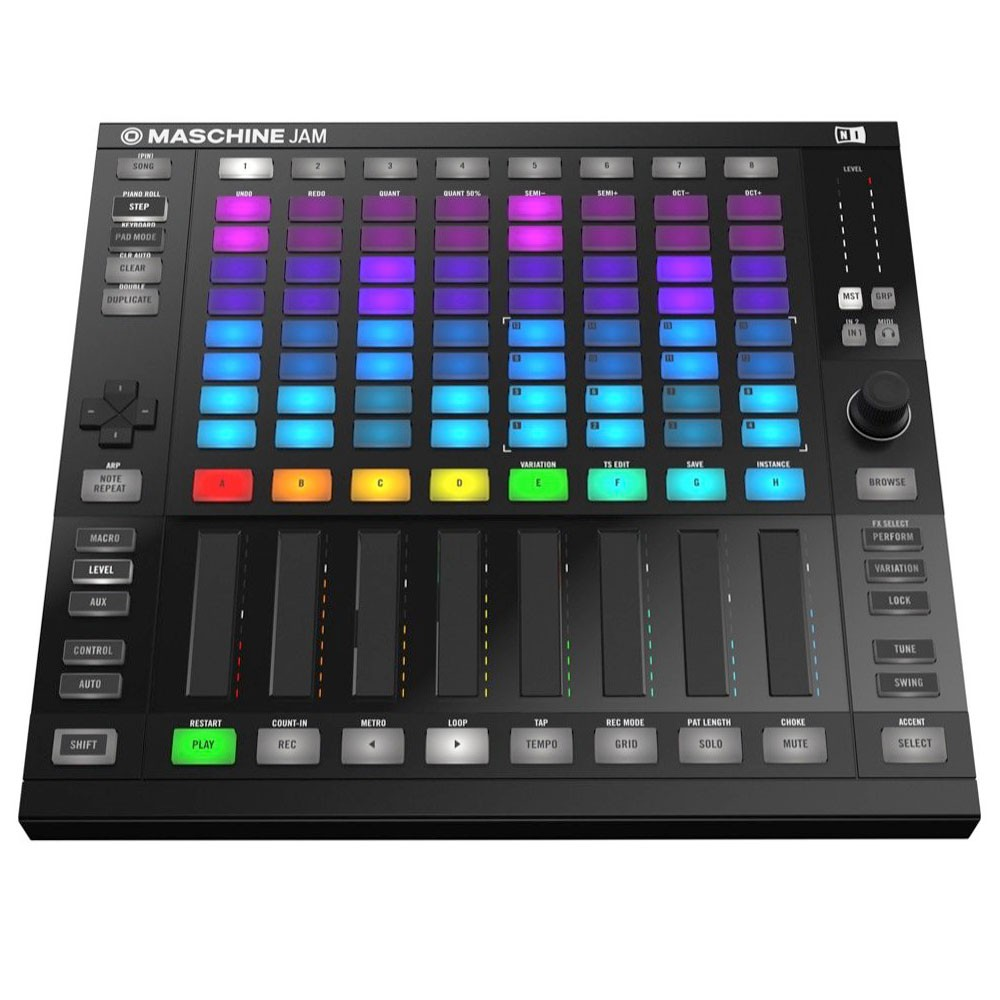 Native Instruments MASCHINE JAM best ableton live pad controller
