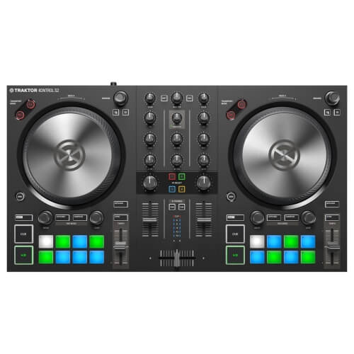 Native Instruments Traktor Kontrol S2 MK3 - best new release dj controller coming out for beginners