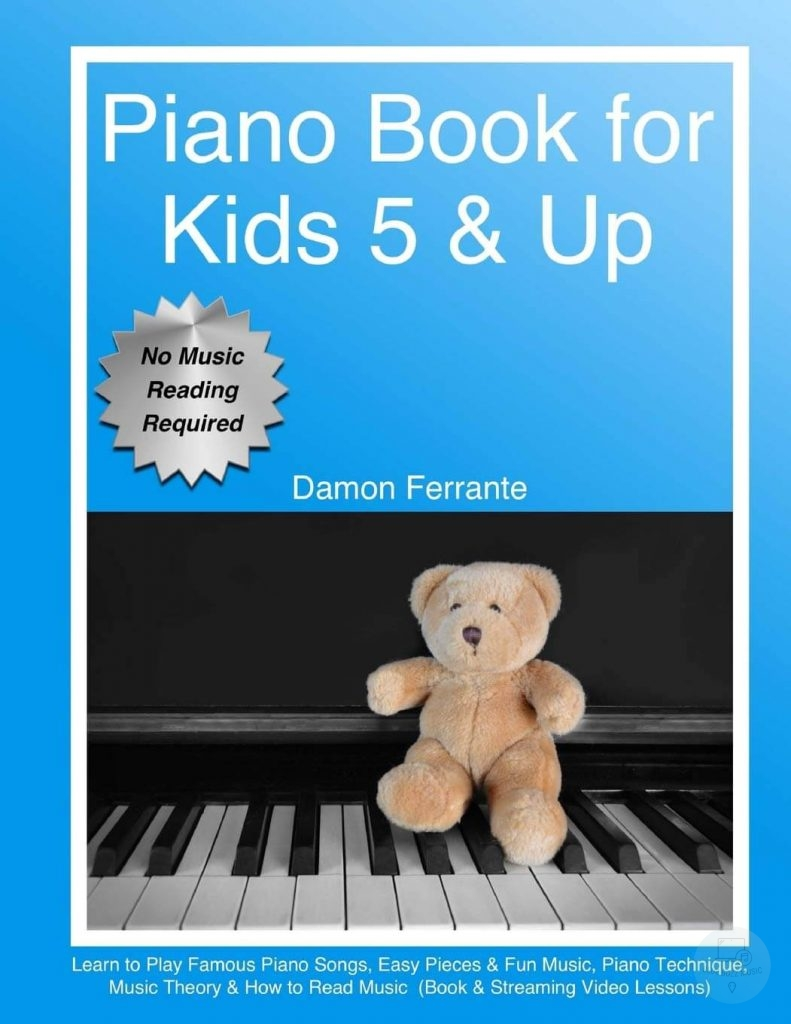 Piano Book for Kids 5 and Up - one of the best piano and keyboard books for kids under 5