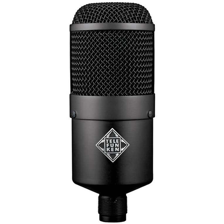 Telefunken M82 - professional dynamic mic for streaming youtube recording