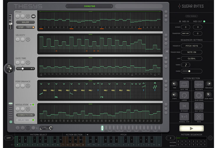 Thesysby Sugar Bytes top best arpeggiator vst plugins for windows and mac