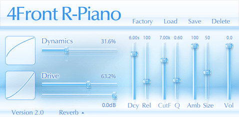 4Front R-Piano VST - free rhodes piano bass vst download