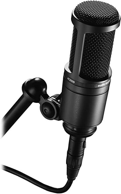 Audio-Technica 2020 USB and XLR- condenser microphone usb and xlr for gaming on youtube, twitch, mixer