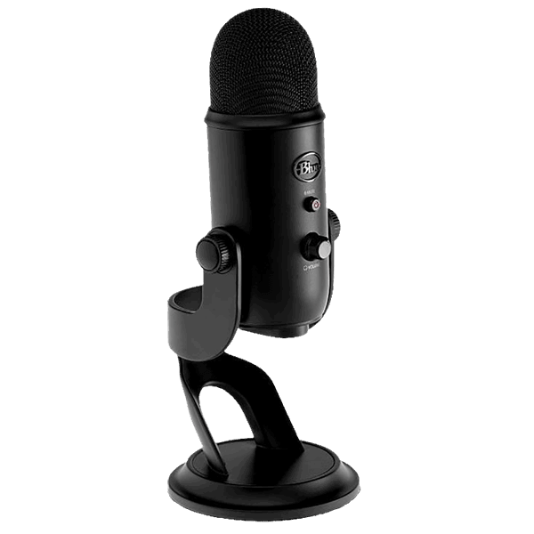 Blue Yeti - Best Plug and Play usb microphone for Streaming and Podcasting