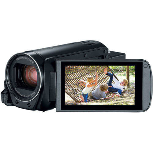 Canon Vixia HF R800 - best cheap budget affordable vlogging camera for youtube