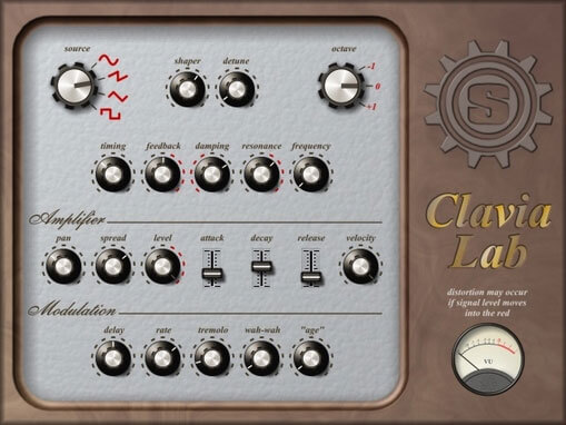 Clavia Lab by Simple Media - best free electric piano vst plugins