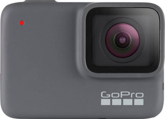 GoPro Hero 7 Silver - best action vlogging camera for youtube for beginners