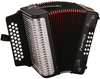 Hohner Panther G-C-F - best professional piano accordions