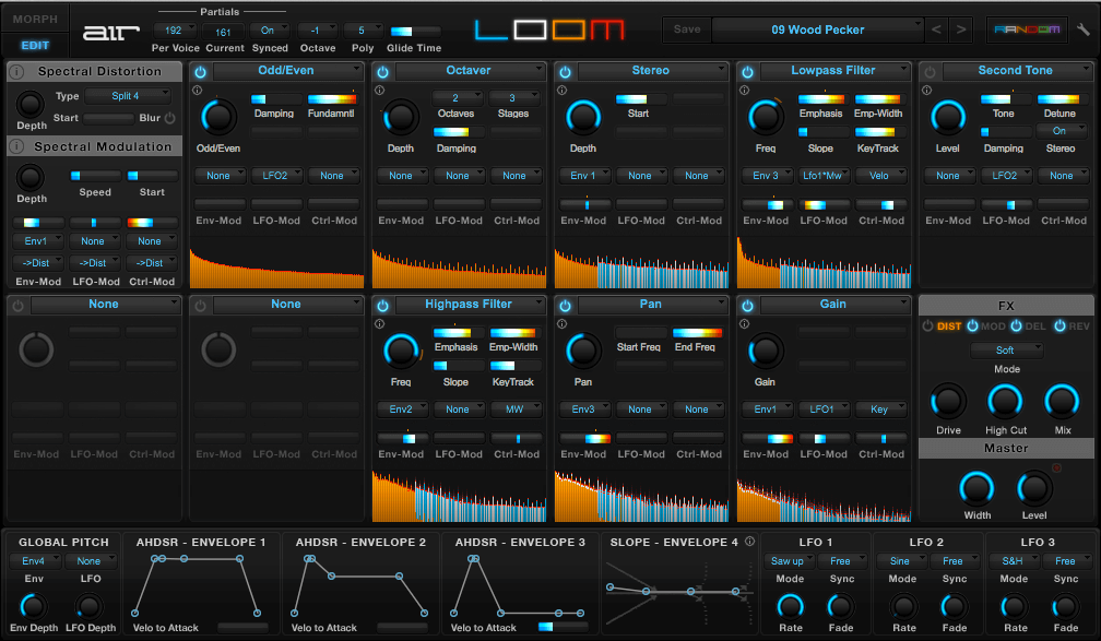 Loom (Air Music Technology) - best synthesizer vst plugin for beginners and pros