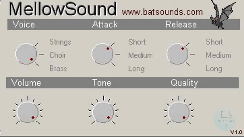 MellowSound by Batsounds - free mellotron vst for beginners and professionals