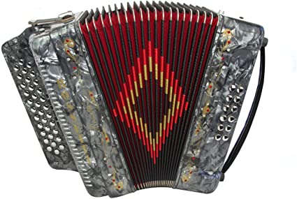 Rossetti 34-Key Accordion - best accordion for beginners and norteno music