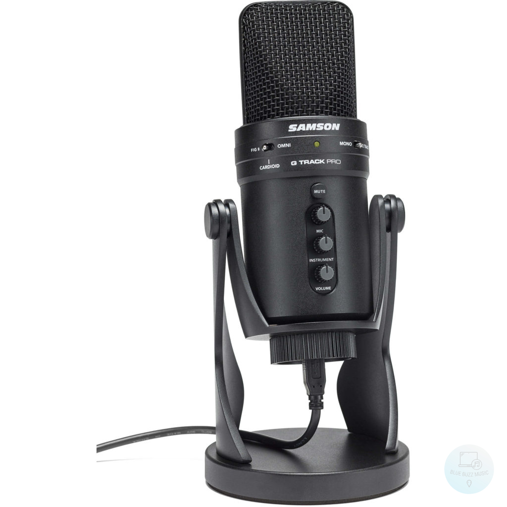 Samson G-Track Pro - best condenser microphone for streaming podcasting
