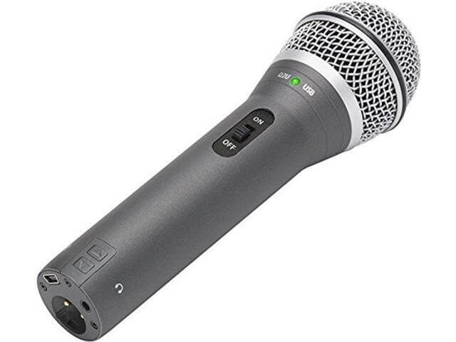 Samson Q2U - best cheap affordable budget microphone for streaming podcasting