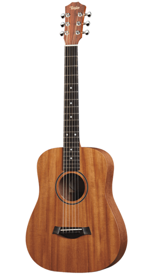 Taylor Baby Acoustic Guitar w Mahogany Top - best travel guitar for airplane 3-4